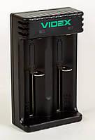 Зарядное устройство для 2-х Li-ion аккумуляторов, Videx VCH-L200, фото 1