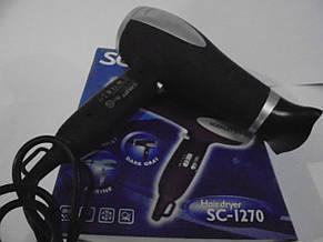 Фен для волос Scarlett SC-1270, мощный фен для волос с ионизатором, фото 2