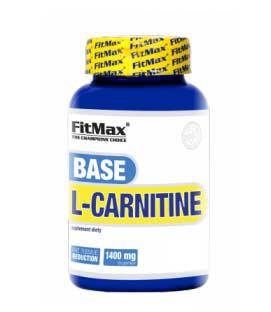 Жироспалювач Base L-carnitine FitMax 60 caps, фото 2