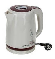 Чайник электрический из термостойкого пластика Scarlett  SC-028