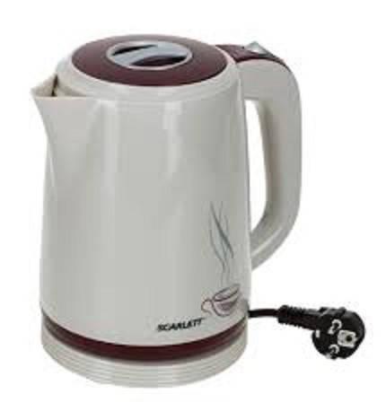 Чайник электрический из термостойкого пластика Scarlett  SC-028, фото 2