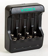 Зарядное устройство для Ni-Mh/Cd аккумуляторов, Videx VCH-N400