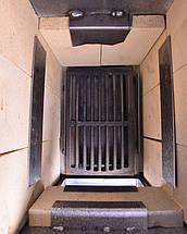 Стальная печь/ буржуйка Acap 16 на 190 м2,16 шамотных кирпичей, фото 3