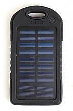 Мобильный power bank UKC 10000mAh c зарядкой от солнечной батареи