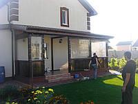 Утепление пристройки (прихожей) мягкими окнами