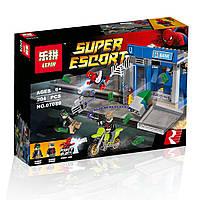 "Конструктор Lepin аналог LEGO Super Heroes 76082"" Ограбление банкомата""204 дет."