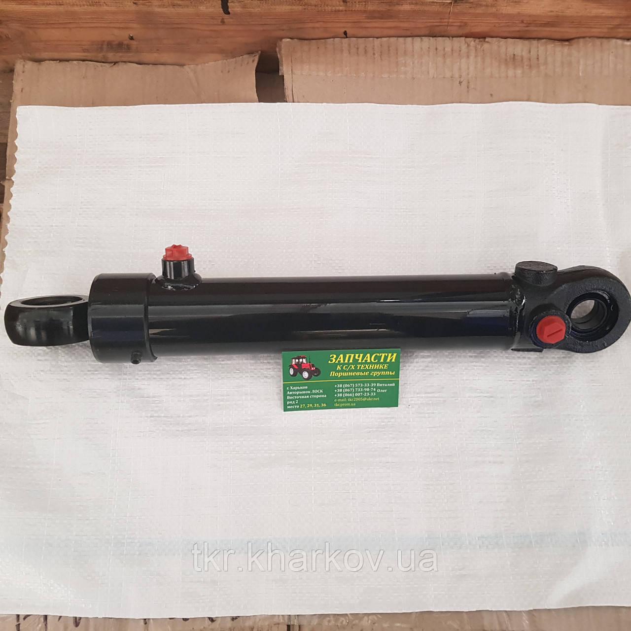 Гидроцилиндр рулевой МТЗ,ЮМЗ, Ц50-3405215А (без пальцев) МТЗ-80, МТЗ-82