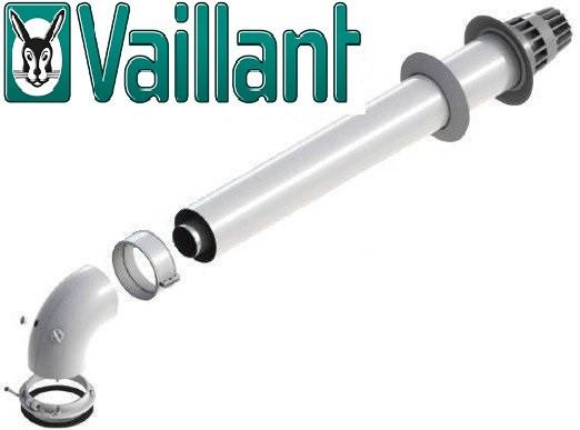 Комплект для коаксиального дымохода 750 мм, 60/100 (Condensing) Vaillant