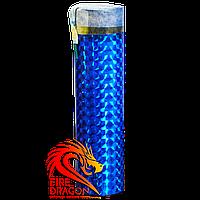 Цветная ручная дымовая шашка BLUE, время: 60 секунд, цвет дыма: синий