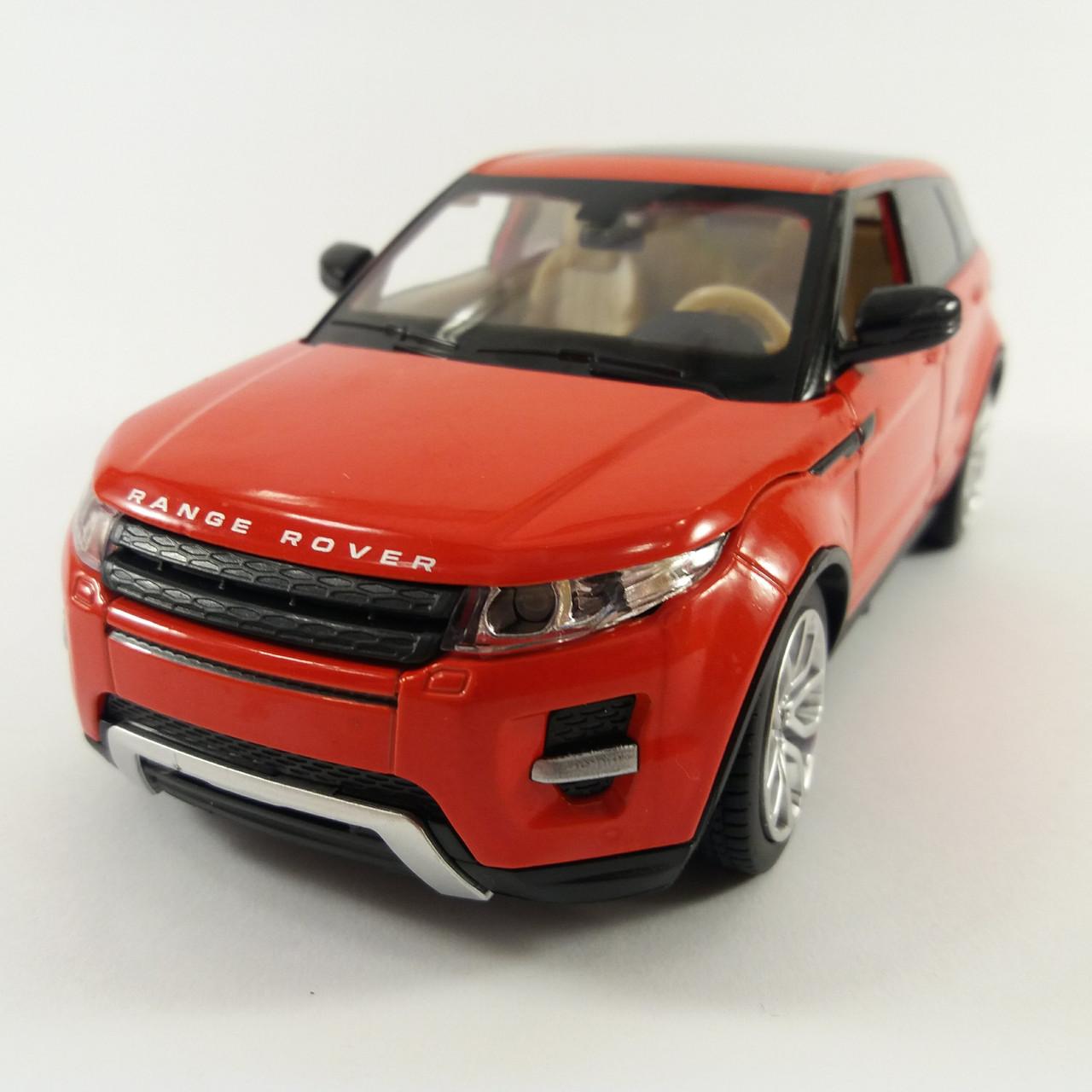 Автомодель металлический Range Rover Evoque 1:24 68244A  АВТОПРОМ Свет, звук Красный