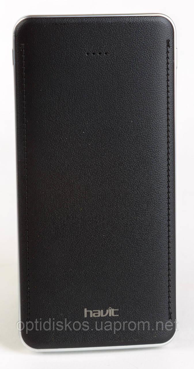 Повербанк Havit HV-PB005X, 10000mAh, 2.1А, черный