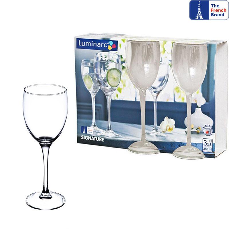 Набор бокалов для вина Luminarc Signature 350мл 3шт