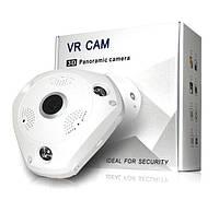 Панорамная камера Wi-Fi / IP панорамная камера 3D XPX 360 градусов