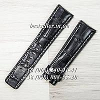 Ремінець до годинника Breitling Classic Black., фото 1