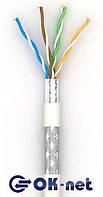 """Витая пара Lan-кабель КПВонг-HFЭО-ВП (200) 4*2*0,51 (S-FTP-cat.5E LSOH) """"Одескабель"""""""