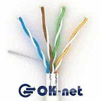 """Витая пара Lan-кабель КПВЭ-ВП (100) 4*2*0,48 (FTP-cat.5E-SL) """"Одескабель"""""""