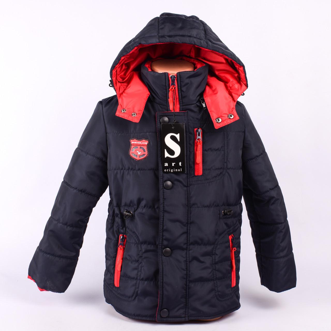 Весенняя куртка на мальчика  SV-1007-34p-R