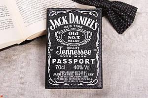 Обложка для паспорта  «Джек Дениэлс»