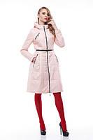 Модное весеннее пальто Аврора персик, фото 1