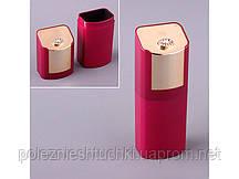 """Футляр для очков пластиковый 16х6х4 см. """"Case"""" бордовый"""