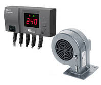 Комплект автоматики котла KG Elektronik CS20+DP02 (блок+вентилятор)