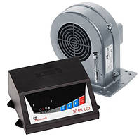 Комплект автоматики котла KG Elektronik SP05 LED + DP02 (блок+вентилятор)