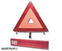 Аварийный знак AW22-11 AUTO WELLE знак аварийной остановки в пластиковой коробке