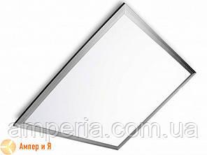 Светодиодный светильник 60*60 (панель) серебряная рамка EUROLAMP LED 40W 4000K, фото 2