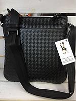 Bottega Veneta кожа мужская сумка на плече в стиле