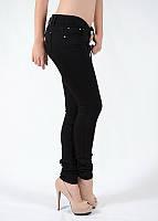 Облегающие женские джинсы скинни узкие чёрные A.M.N. (amnesia) 6328DNM, фото 1