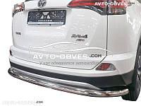 Защита задняя Toyota Rav4 2016-…, труба прямая