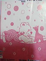 Детское хлопковое одеяло размером 100-140 см