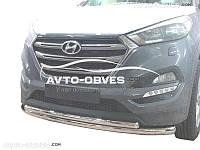Двойной ус Hyundai Tucson 2015-2017
