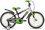 """Детский велосипед ARDIS FITNESS BMX 20""""  Салатовый/Черный/Белый"""