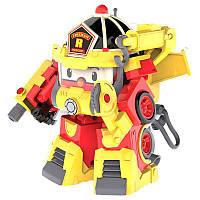 Трансформер Robocar Poli Рой в костюме пожарника 15 см (83314)