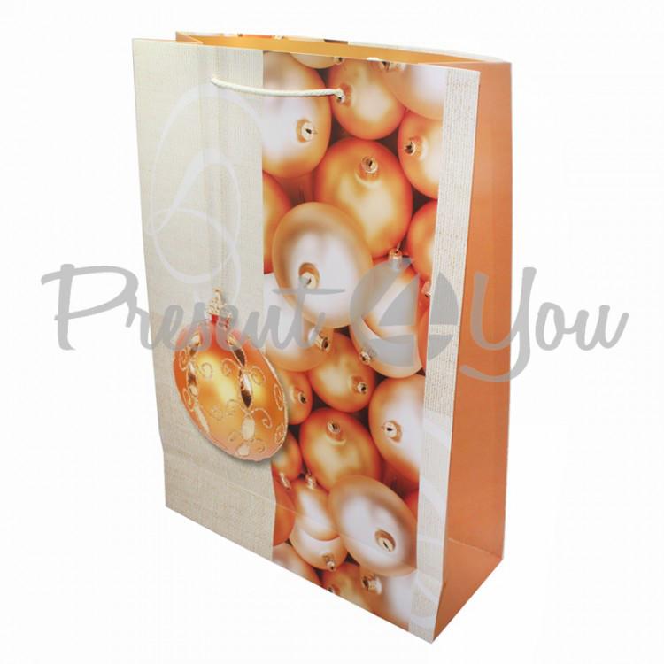 Пакет подарочный, 44х31х12 см (344-0031)