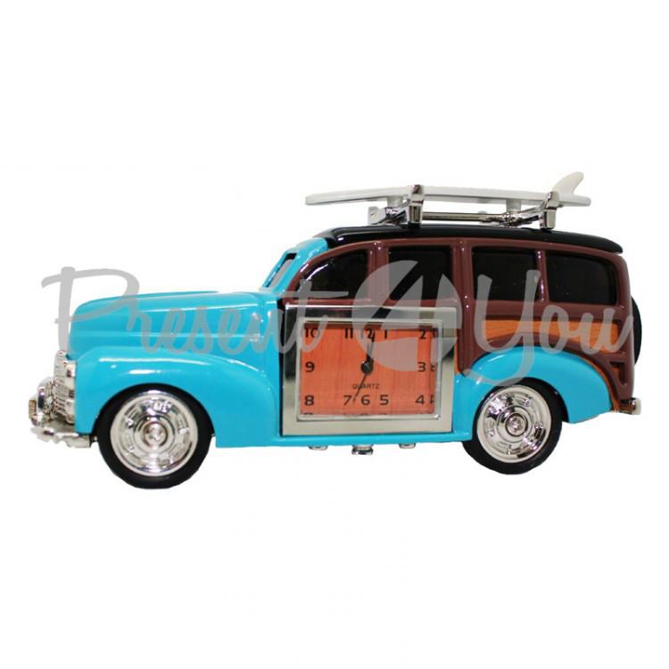 Ретро автомобиль с часами, h-11,5 см (210-6020)