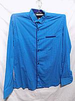 Мужская рубашка трансформер Турция стрейч-котон весна-осень оптом со склада 2b095167b0a4b