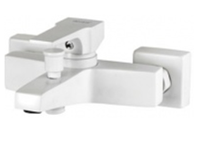 Смеситель для ванны (Латунь/Белый) Newarc AQUA 941511W (Турция)
