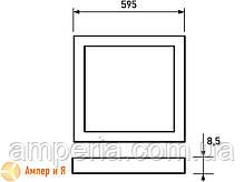 Светодиодный светильник 60*60 (панель) белая рамка EUROLAMP LED 40W 4000K , фото 2