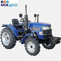 Трактор ДТЗ 5244НРХ -24 л.с., полный привод, 3-цил. диз. двигатель, блокировка дифференциала