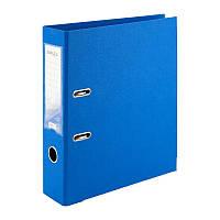 Папка-регистратор 7,5см, двухсторонняя голубая. Delta D1712-07C