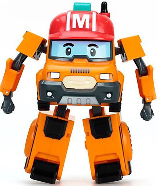 Роботи і трансформери Robocar Poli