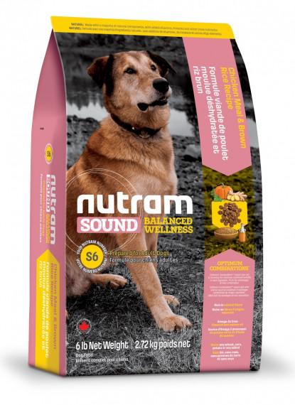 Nutram Adult DOG 2.72 кг - холистик корм для собак (курица)