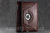 Поворотный 360° чехол-книжка для Apple iPad 2 | 3 | 4 (коричневый цвет)