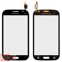 Сенсорное стекло (тачскрин) для Samsung i9060i Galaxy Grand Neo Plus черный