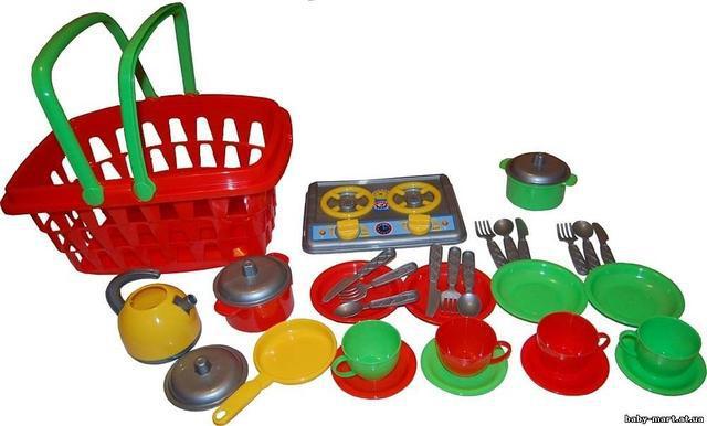 Посуда и кухни детские