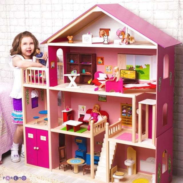 Дома, мебель д/Барби