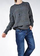 Стильные джинсы бойфренды плотный коттон Euro Fashion Турция 1283, фото 1