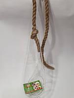 Декорация стеклянная подвесная Капля 8980 (11см, Н32см), фото 1